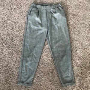 Bershka patterned pants!